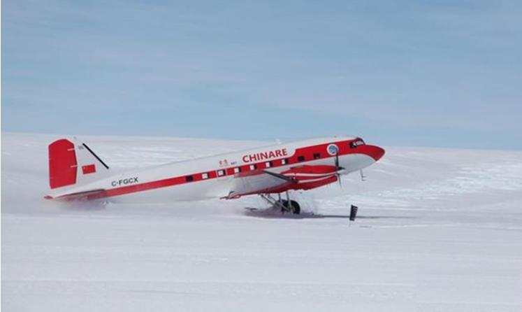 索邦企鹅君——中国南极科考队昆仑队抵达泰山站