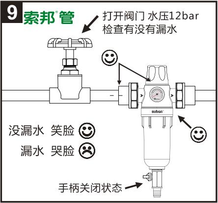 索邦前置过滤器安装图